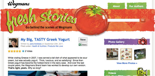 fresh stories web