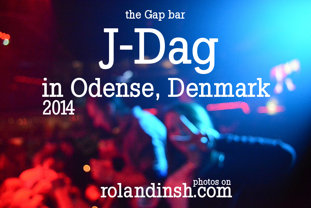 J-Dag party 2014 at the GAP bar in Odense, Denmark