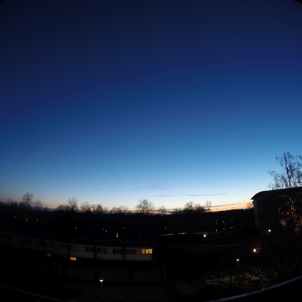 sunset in vollsmose odense denmark gopro hero4 silver