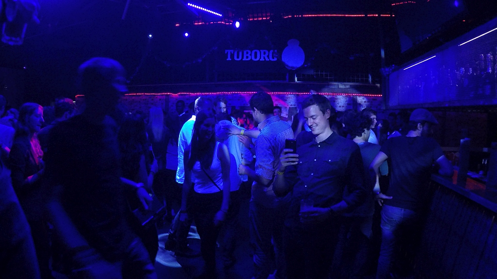 Student party in Odense (the Gap nightclub + dormitory)