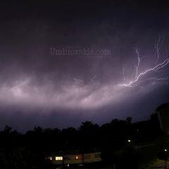 Lightning in Odense