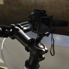GoPro HERO4 Silver on my bicycle