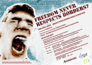 FREEDOM NEVER RESPECTS BORDERS vizuālo darbu konkurss