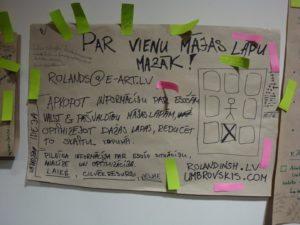 Par vienu mājas lapu mazāk – mana ideja no #GovCampLv Ideju talkas (23.01.2010)
