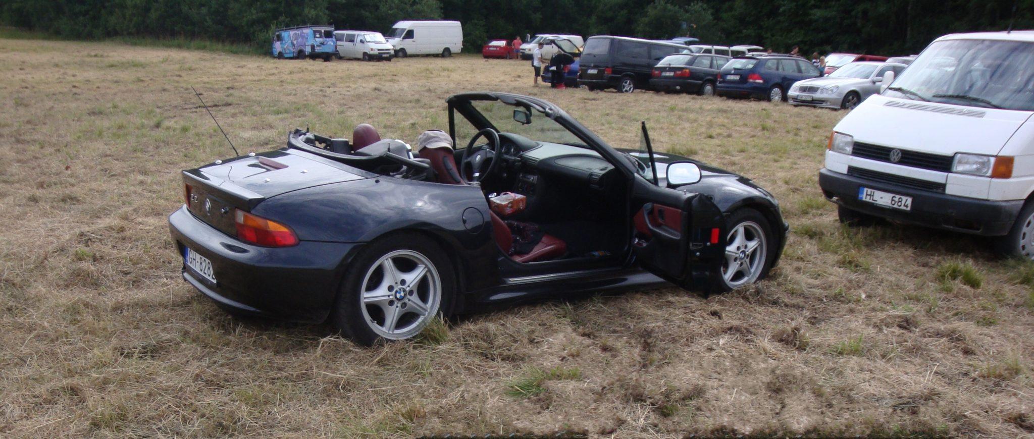 BMW Z3 Positivus 2011 festivāla laikā