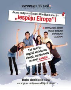 Intervija EHR raidījumā IESPĒJU EIROPA par EVS Grieķijā