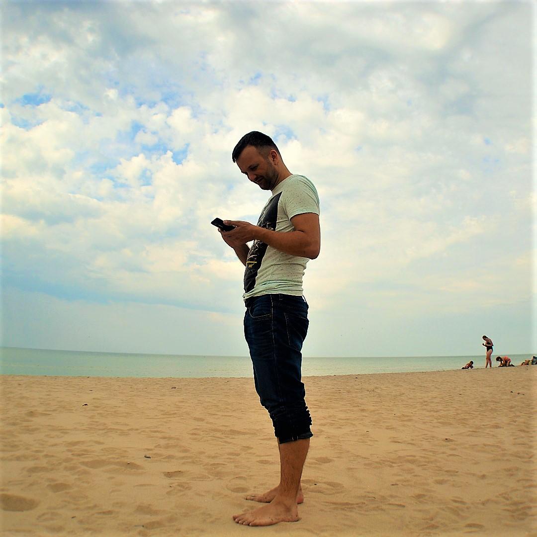 Snapchat un Rolands Jūrkalnes pludmalē