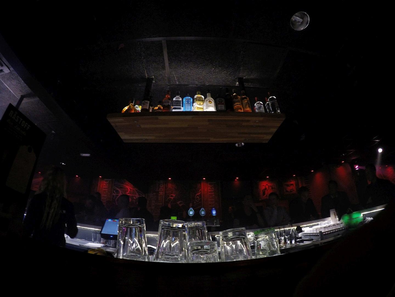 Glāzes BarMix Vejle naktskluba.
