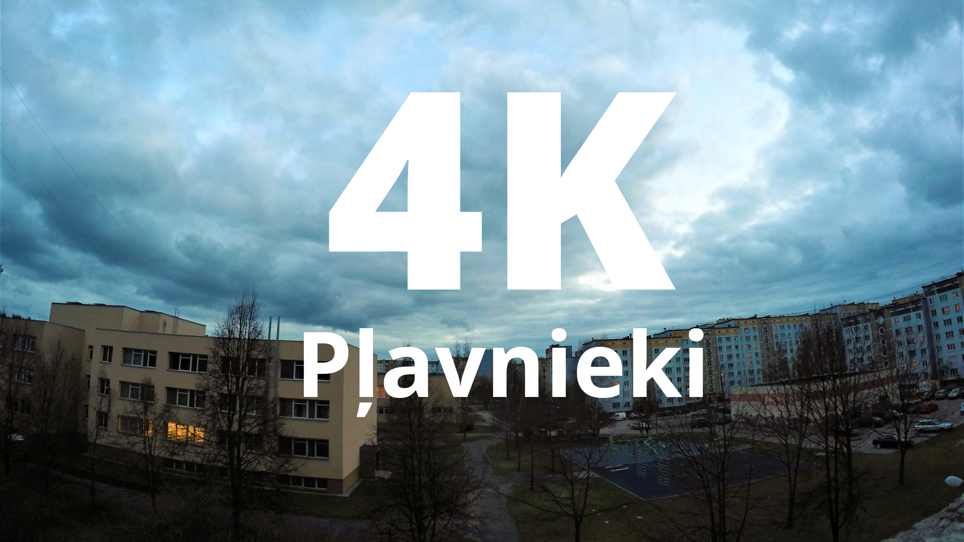Plavnieki 4K video