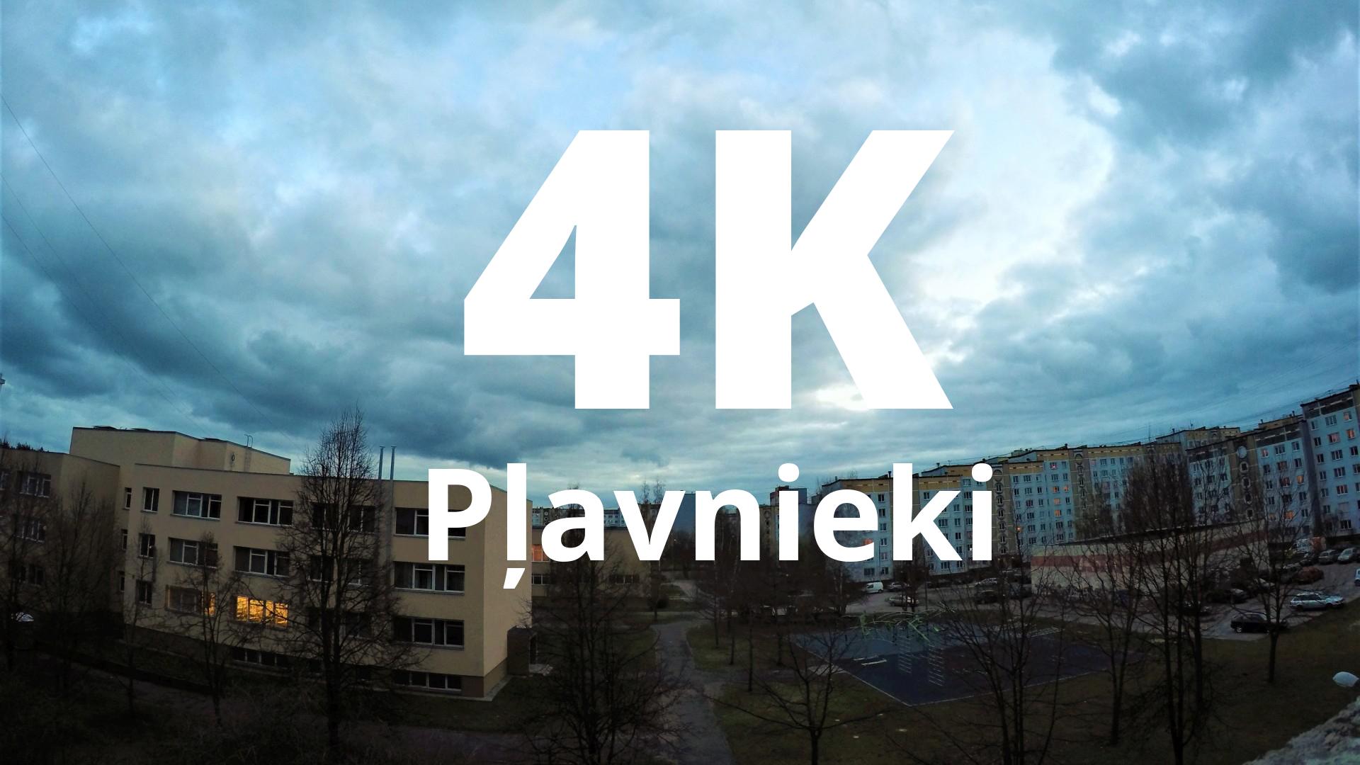Plavnieki 4K video