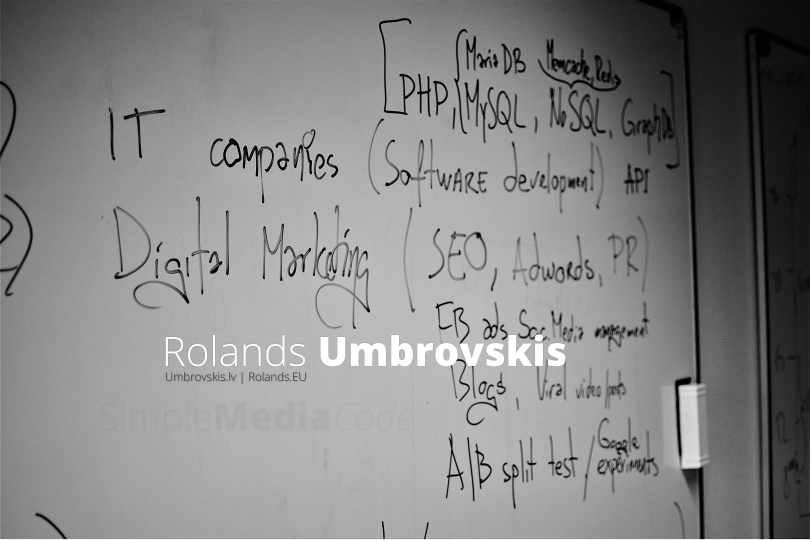 Rolands Umbrovskis. Web, mārketings, inovācijas.