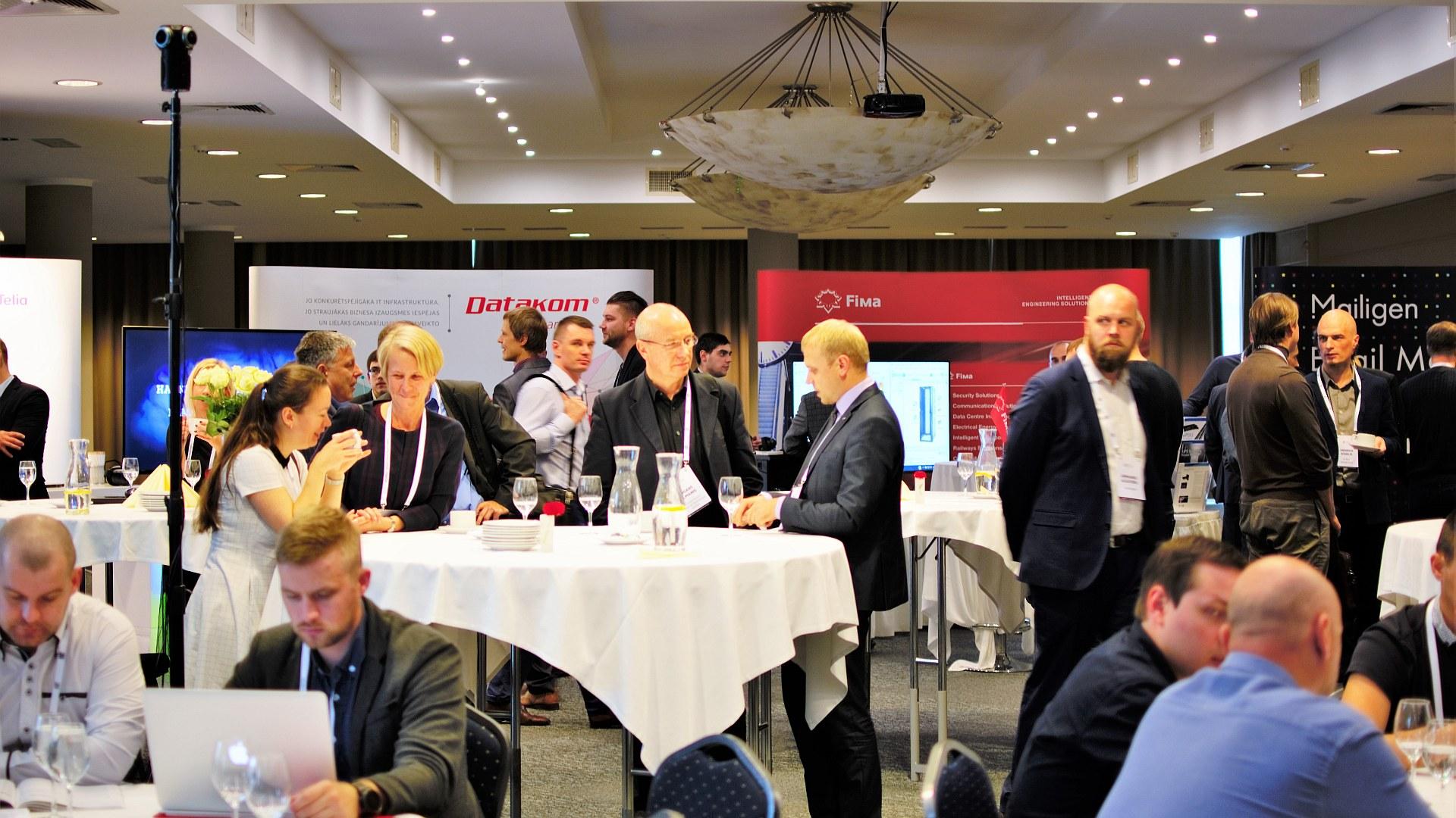 BiSMART konference: Uzņēmuma IT vadības un attīstības izaicinājumi. Dalībnieki.