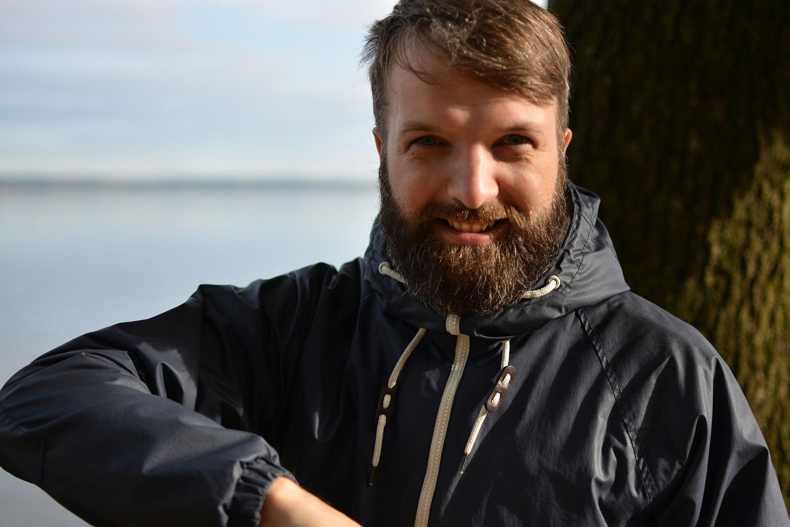 Rolands Umbrovskis. Mežaparks, Rīga.
