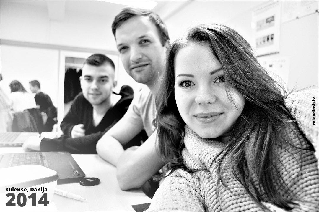 Lillebaelt akadēmijā. Rolands, Zinta. 2014. gads
