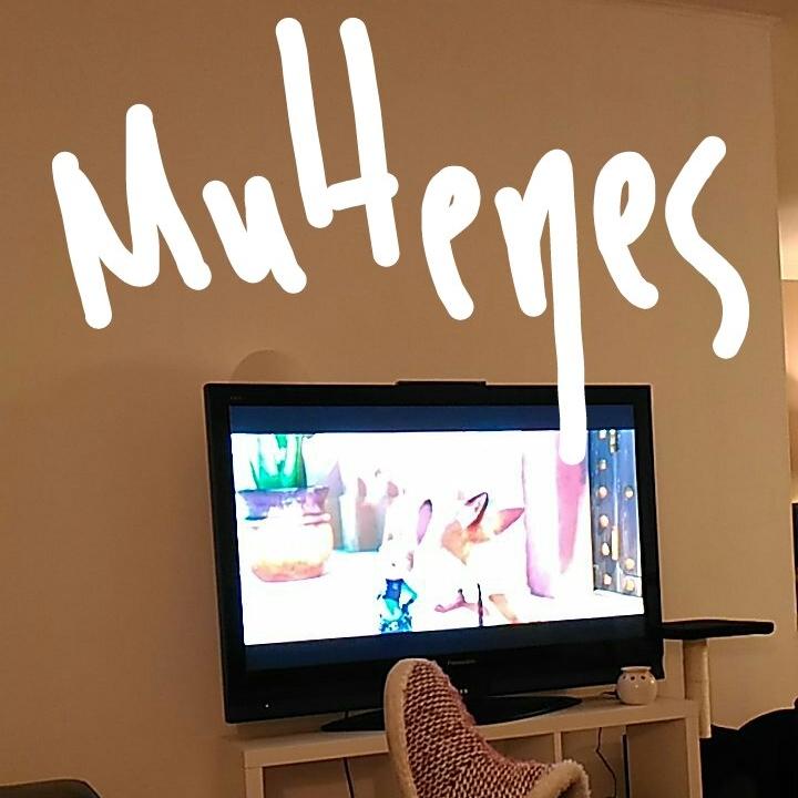 Skatoties multiplikācijas filmas. Vejle, Dānija. 2018-01-15