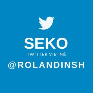 Seko @rolandinsh Twitter vietnē!