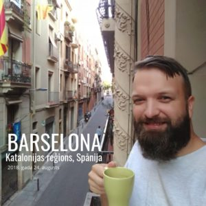 Pamazām publicēšu bildes no Barselonas ceļojuma (2018)