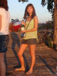 Foto no pirmā blogeru piknika.