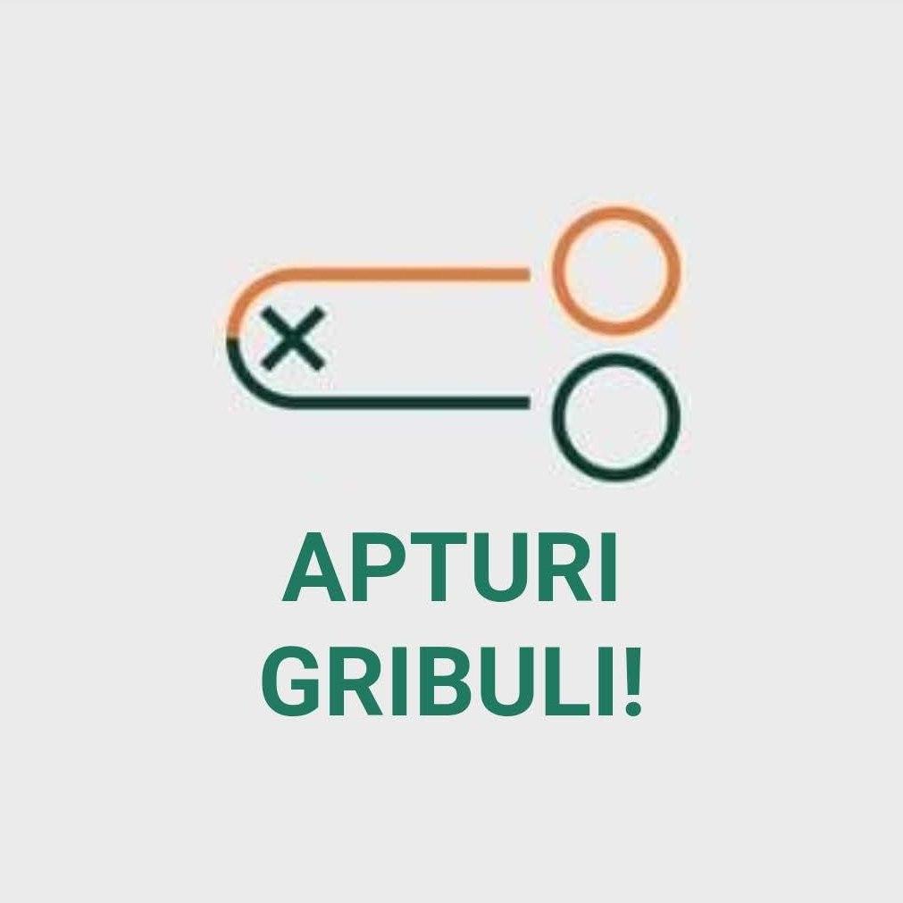 Apturi Gribuli / Dižkniebis logo