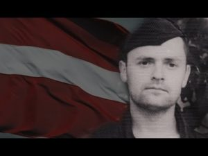 Latvijas karogs virs okupētās Rīgas: Bruno Javoiša varoņdarbs
