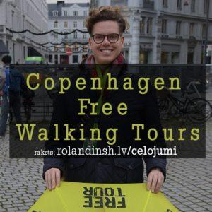 Bezmaksas gidi Kopenhāgenā