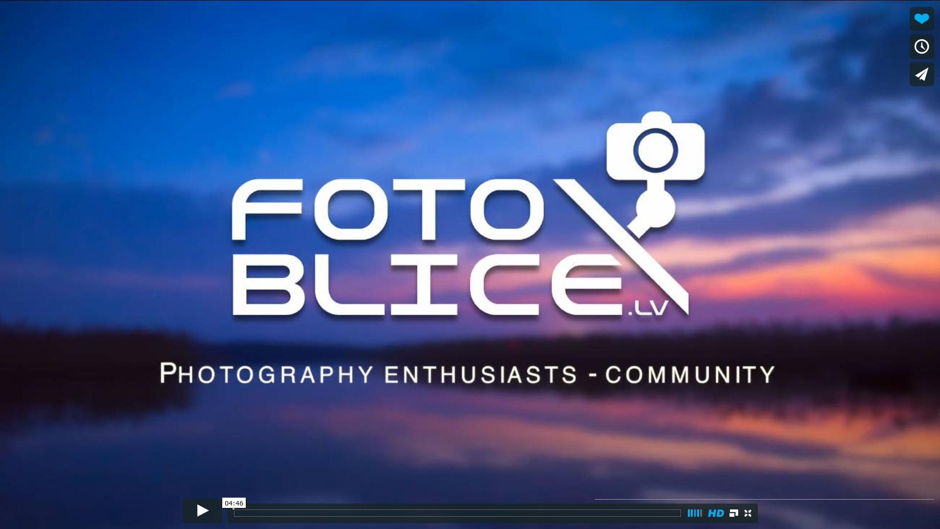 fotoblice.lv time lapse video pieteikums