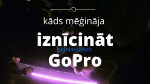 GoPro iznīcināšanas mēģinājums Odenses naktsklubā