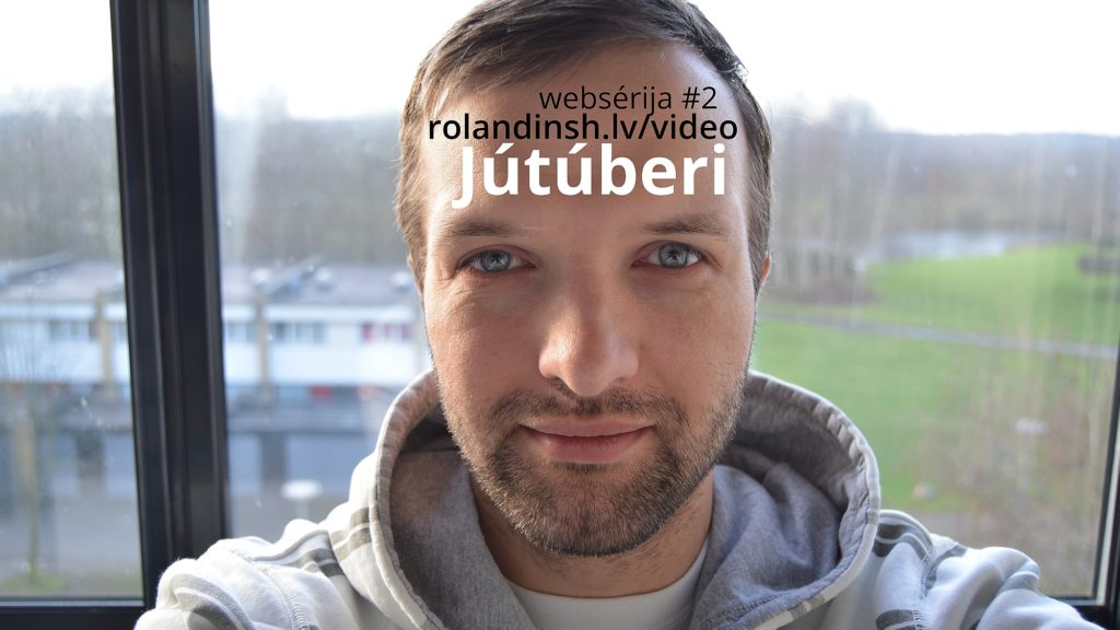 Jūtūberi (vlog web sērija #2)
