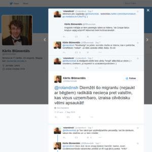 Pirms diskutē ar mani par patvēruma meklētājiem Eiropā un Latvijā (2015) [papildināts]