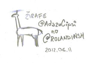 Žirafe @AdazuCipsi