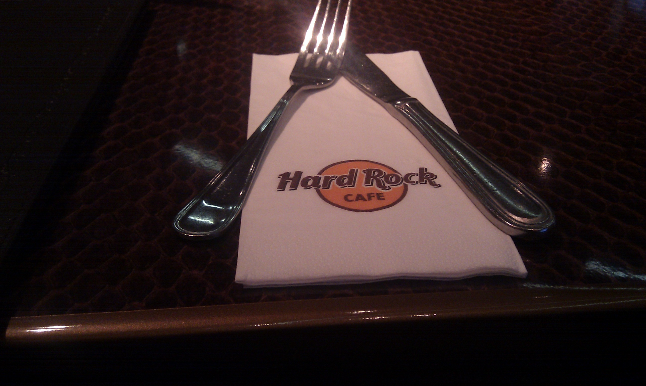 Hard Rock cafe salvetes