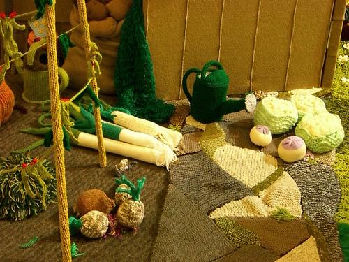 Knitted veggies by WordRidden (Flickr) | Adījumi