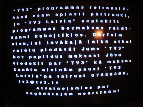 Baltcom vs TV3 Latvija
