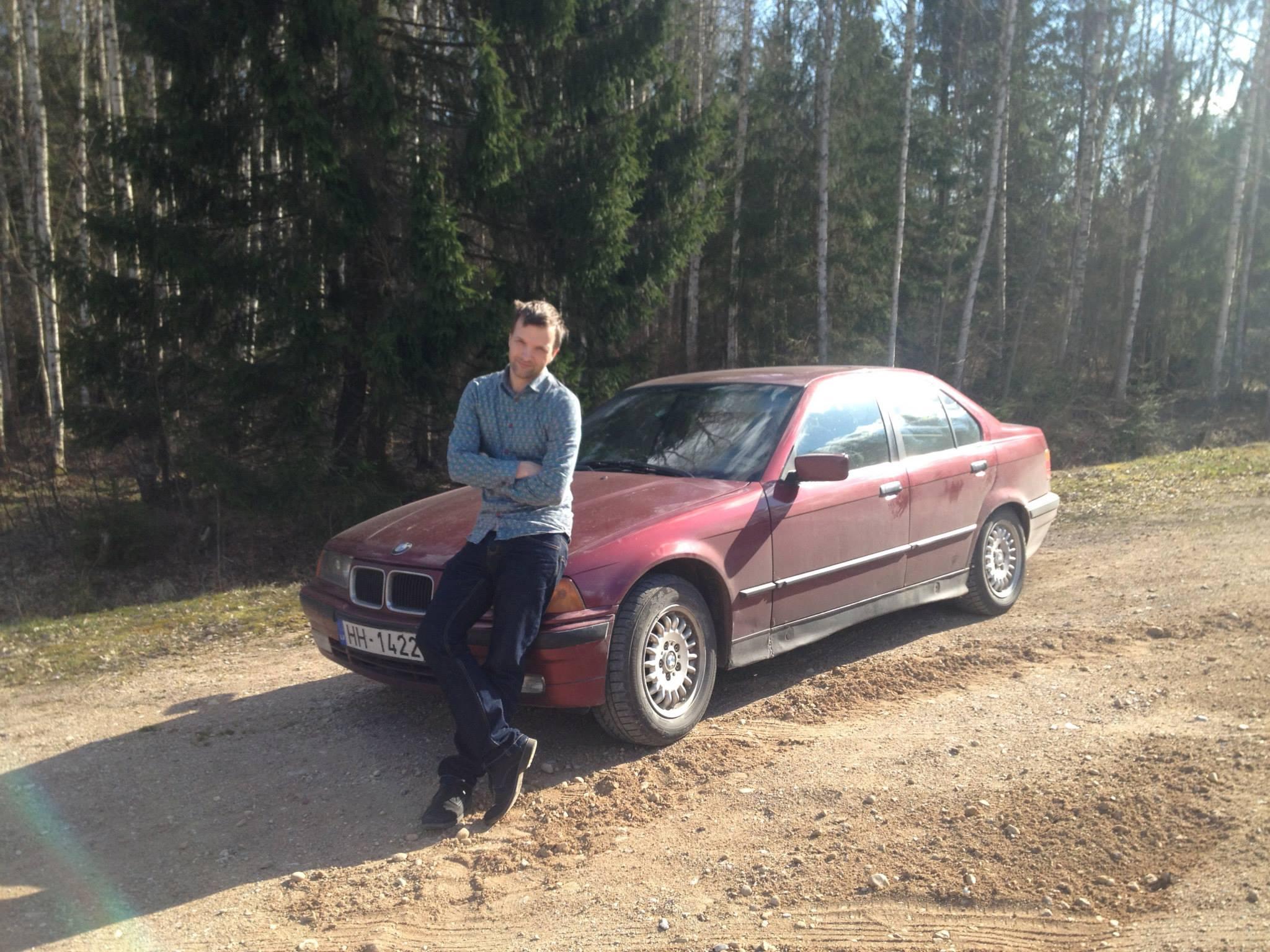 BMW 316 e36 Latgalē
