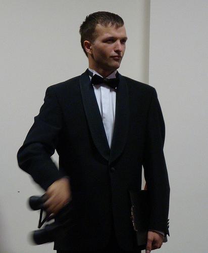 Tēlojot Bondu, smaržu  Bond Girl 007 prezentācijas laikā