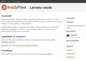 BuddyPress: izveido savu sociālo tīklu latviešu valodā uz WordPress