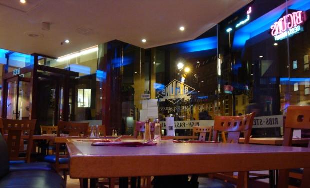 Biguns restaurant Londonā