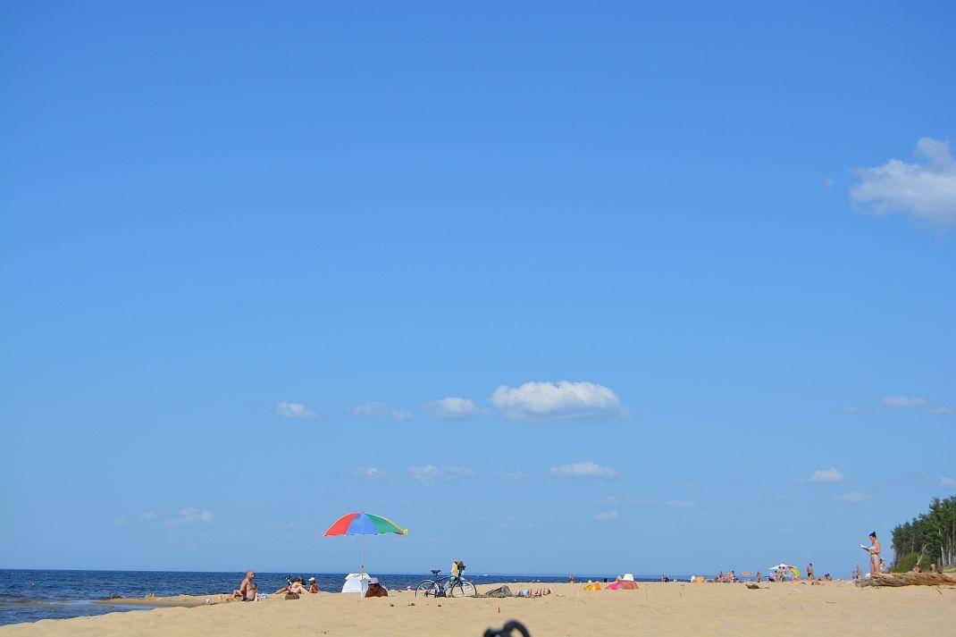 Carnikavas pludmale