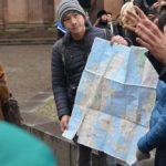 Kopenhāgenas kartes meklējumi. Copenhagen free walking tours