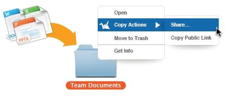 copy.com dalīšanās