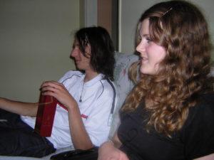 David & Mirja at Serres