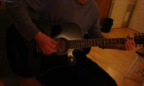 Edgars un ģitāra