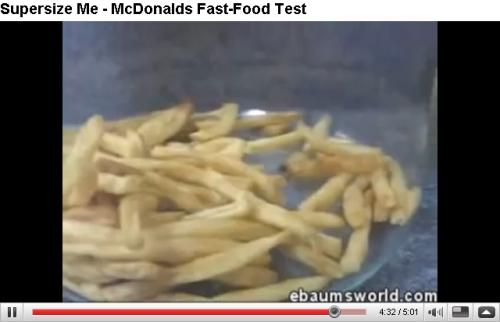 Fastfood test