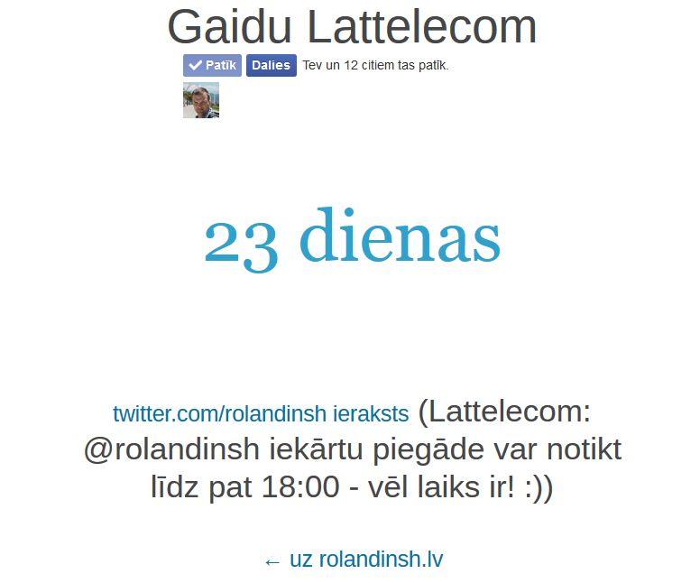 Gaidu Lattelecom