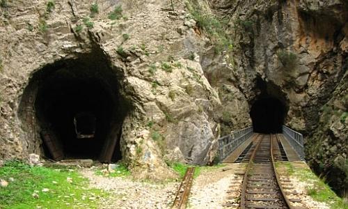 Grieķijas kalnu dzelzceļš