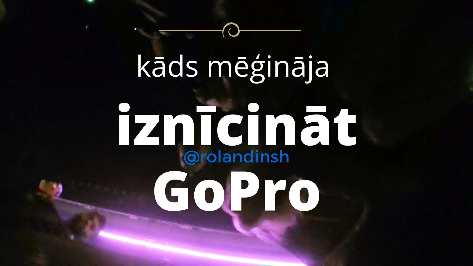 Iznīcināt GoPro naktsklubā. Odense.