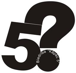 Biedrības Kāpēc 5. Logo