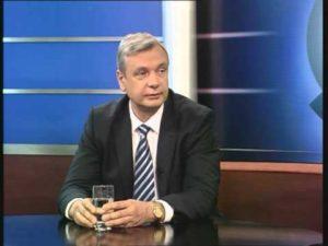 Kārlis Šadurskis krieviski par krievu valodu (TV5 video)