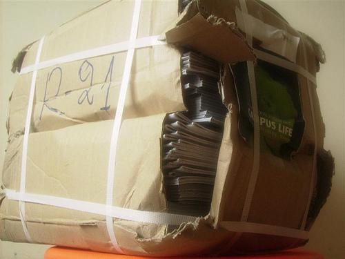 Latvijas pasta bojātie sūtījumi