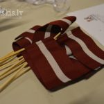 Latvijas karodziņi. Latvijas Republikas Neatkarības diena. 21. novembris, Vejle; 2015